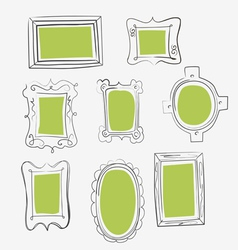 Fun frames vector