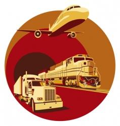 Cargo transportation vector