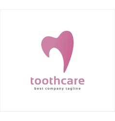 Abstract dental tooth logo icon concept logotype vector