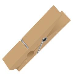 Clothespin vector
