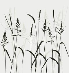 Wild grass vector