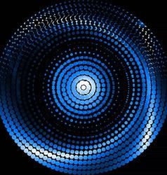 Blue swirl vector