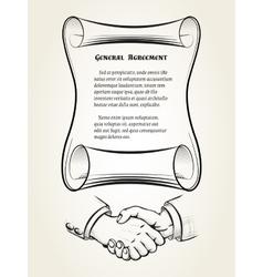 General agreement vector