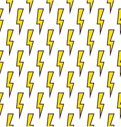 Power sign seamless pattern background vector