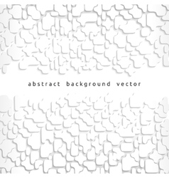 Abstract background of gray fragments vector