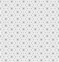 Geometric line pattern background vector