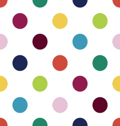 Happy polka dots vector