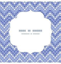Purple drops chevron circle frame seamless pattern vector