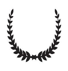 Laurel wreath icon2 vector