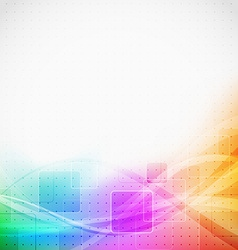 Bright modern abstract square tile background vector