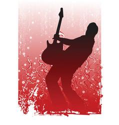 Guitar illustration vector