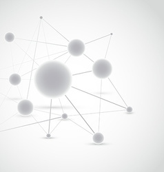 Connected molecule modeling construction vector