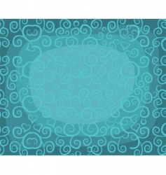 Curly background vector