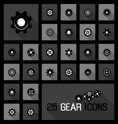 Gear icons concepts vector
