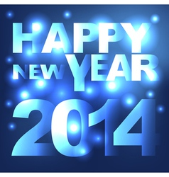 Abstract light happy new year background vector