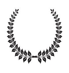 Laurel wreath icon4 vector