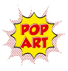 Pop art comic vector