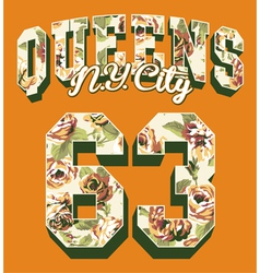Queens new york city vector