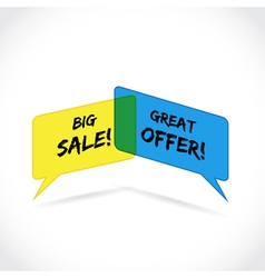 Sales offer vector