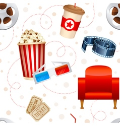 Cinema seamless texture vector