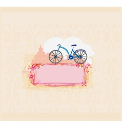 Bicycle poster vector