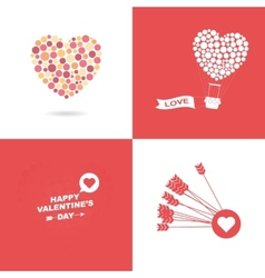 Symbol of valentines day vector