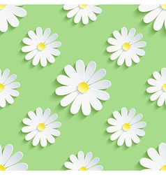 Spring green background seamless pattern with vector