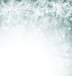 Christmas snowflakes on colorful background vector