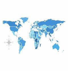 World map free stock image vector