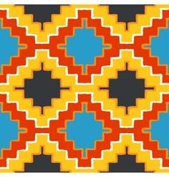 Navajo tribal ornament vector