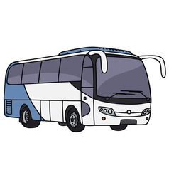 Touristic bus vector