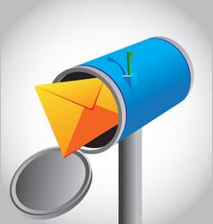 Mail box vector