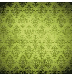 Damask background vector