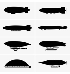 Airship vector