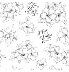 Bridal seamless pattern vector