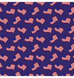 Seamless pattern of american native flags vector