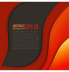Abstract colorful light background forms a smooth vector