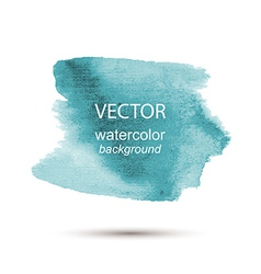 Abstract watercolor hand painted background vector