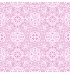 Beautiful pink ornamental background vector