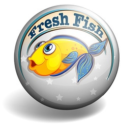 Fresh fish vector