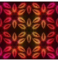 Fire red abstract seamless pattern vector