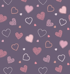 Valentine blueberry pattern vector