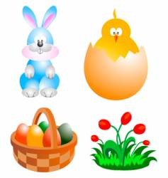 Easter clip-art vector
