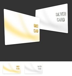 Member premium club card collection set vector