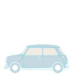 Classic mini vector