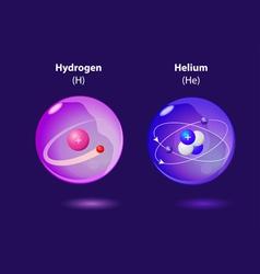 Structure atom vector
