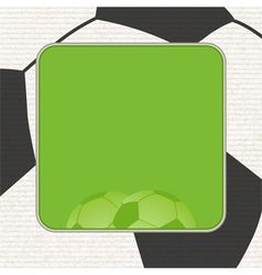 Football background panel graphic vector