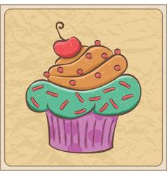 Cupcakes03 vector