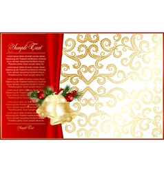 Elegant xmas background vector
