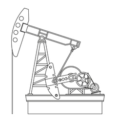 Oil pump vector